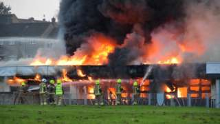 Dunfermline school fire