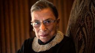 Ruth Bader Ginsburg, juíza da Suprema Corte americana