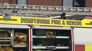 Derbyshire fire engine