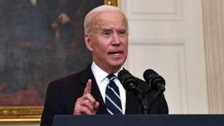 """조 바이든 미국 대통령은 지난 7월 미국이 바이러스로부터 """"독립""""할 것이라며 낙관적인 전망을 밝혔었다"""