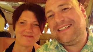 Sarah Lowndes and partner David