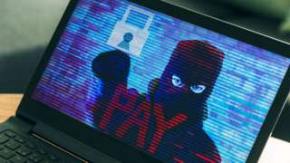 Illustration of ransomware