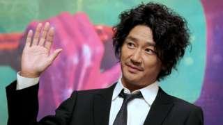 Press conference of Japanese singer Kondo Masahiko