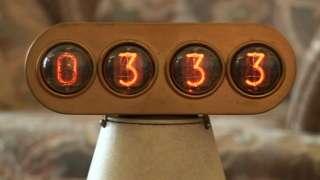 Thomas Bromley's digital clock
