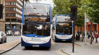 Buses in Manchester