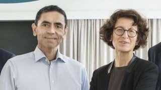 撒辛和圖勒奇夫妻領導德國BioNTech的醫療團隊(Credit: DISCLOSURE)