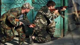 Сепаратисты из Южной Осетии