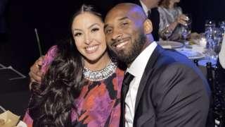 Vanessa na Kobe Bryant mu kwezi kwa 11 umwaka ushize i Los Angeles
