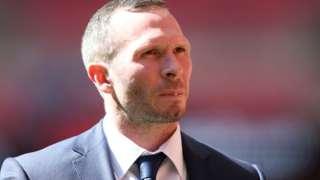 Oxford United manager Michael Appleton