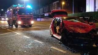 Erdington crash
