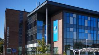 Wolverhampton Science Park, which houses the offices and laboratories of Immensa Health Clinic