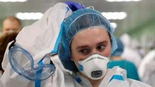 Медик в московской больнице