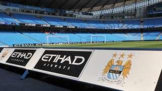 Manchester City's Etihad Stadium