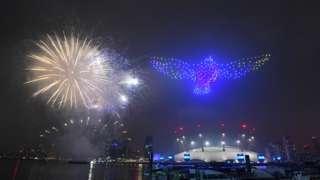 New Year Fireworks display
