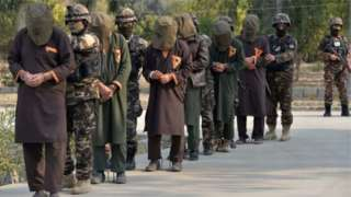 Bigereranywa ko abarwanyi b'umutwe w'Abatalibani bagera ku 10,000 bafungiye mu magereza atandukanye muri Afghanistan