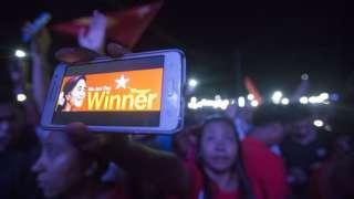 NLD ပါတီ ထောက်ခံသူတွေ