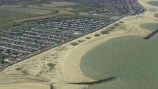 Jaywick aerial photo