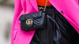 A Gucci bag