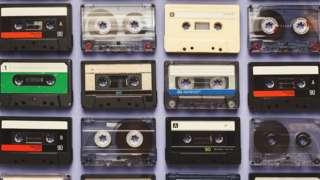 Several cassette tapes