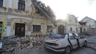 спасательная операция в Петринье