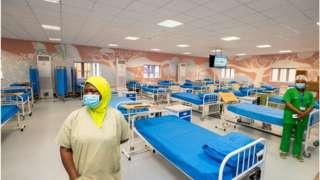 Lagos Covid- 19 Isolation centre
