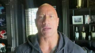 """Dwayne """"the Rock"""" Johnson talks about his family's Covid-19 infection on Instagram, 2 September 2020"""