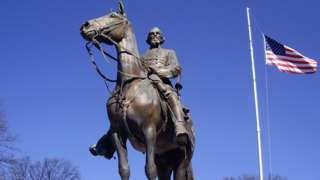 Statue of Nathan Bedford Forrest in Memphis
