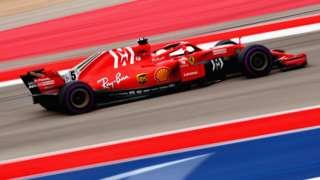 Ferrari's Sebastian Vettel