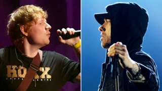 Ed Sheeran and Eminem