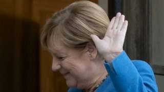 Angela Merkel (file pic)