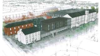 concept drawing ebrington hotel