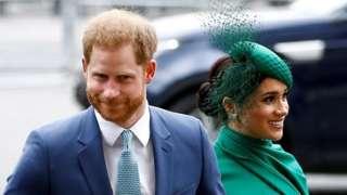 प्रिन्स हॅरी आणि मेगन मर्कल, राणी एलिझाबेथ दुसऱ्या, शाही राजघराणं