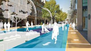 An artist impression of the proposals