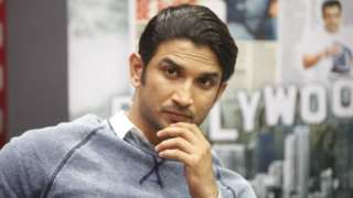 Bollywood actor Sushant Singh Rajput during the promotion of his film Detective Byomkesh Bakshy at HT's Fever office, on April 1, 2015 in Mumbai, India