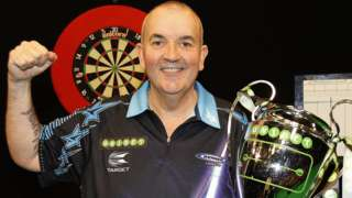 Phil Taylor Champions League of Darts