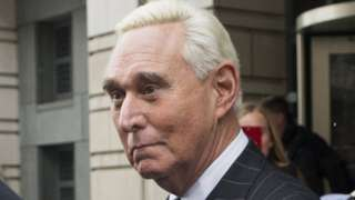Roger Stone leaves the Federal Court in Washington DC, 1 February 2019