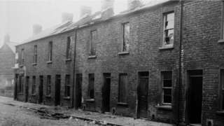 Catholic families were forced out of their homes in some areas, including in Antigua Street in Belfast in May 1922