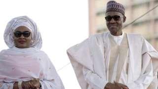 Aisha Buhari iyo segeeda Buhari