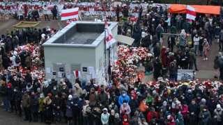 Минскидеги митинг