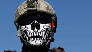 Боец афганского спецназа