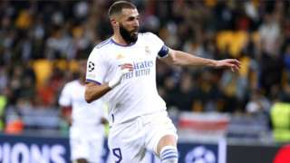 On the pitch Karim Benzema, 33, has scored for Real Madrid and France in the past 10 days