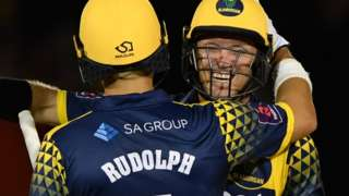 Jacques Rudolph and Colin Ingram celebrate