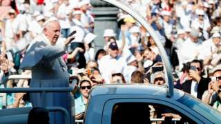 Pope Francis in Budapest
