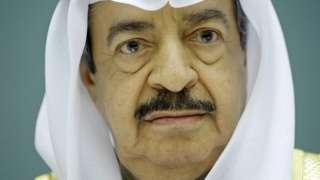 File photo of Bahrain's late Prime Minister, Prince Khalifa bin Salman Al Khalifa (2007)