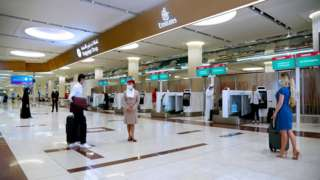 Pipo wey dey travel enta Dubai