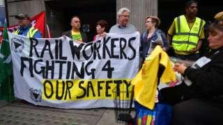 RMT strikers