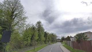 Chelsfield Lane in Oprington