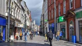 Strand Street in Douglas