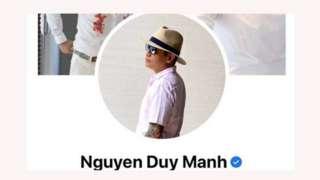 Ca sĩ Duy Mạnh