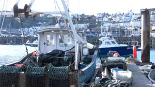 Guernsey fishing boats